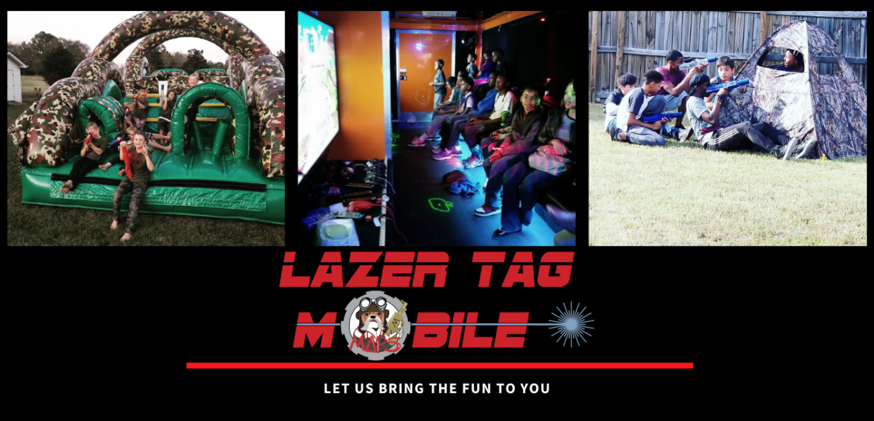Lazer Tag Mobile – Laser Tag Birthday Parties – School Functions – Corporate Events – Fayettville, NC